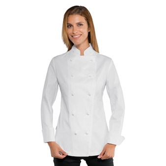 Giacca Lady Chef - Isacco Bianco